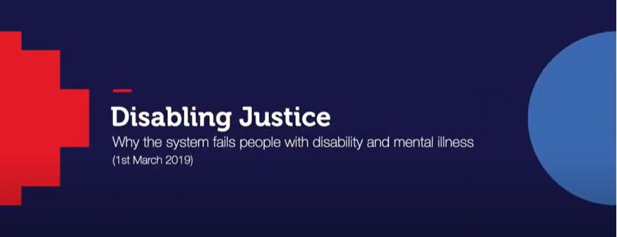 Watch online: Disabling Justice